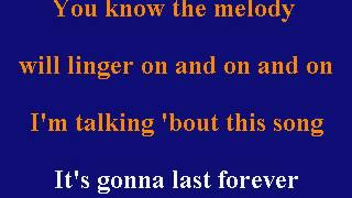 Lou Rawls - This Song Will Last Forever - Karaoke