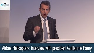 Airbus Helicopters: interview with president Guillaume Faury