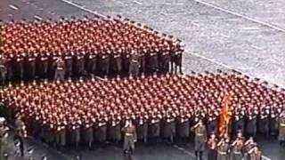 7 ноября 1980г. Москва. Красная площадь. Военный парад.