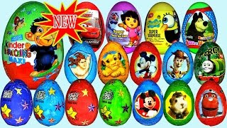 kinder surprise eggs play doh mickey mouse barbie life tom and jerry disney cars 2 talking tom toys