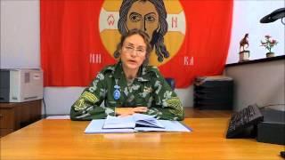 Обращение немецкой девушки-добровольца из армии Новороссии 2
