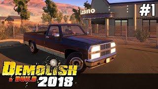 Demolish & Build 2018 GAMEPLAY PL [#1] ZNISZCZENIE Lepsze niż w GTA Online?