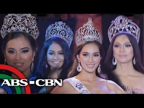 BB. Pilipinas 2013 winners on their farewell walk