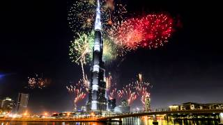 Burj Khalifa New Year 4K Quality