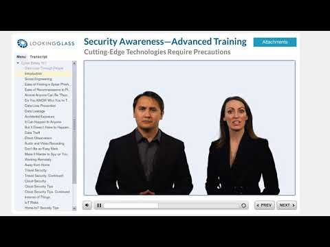 LookingGlass Cyber Safety Awareness Program- Advanced Track