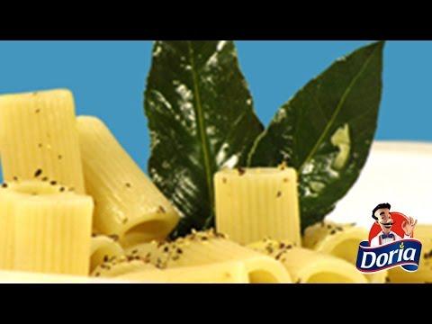 rigatoni doria mantequilla