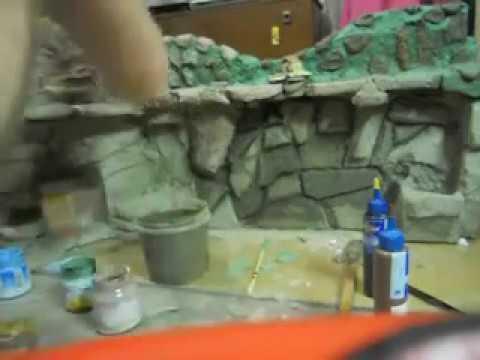 Как сделать замки для аквариума своими руками261