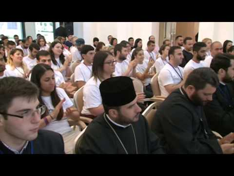 Catholicos of All Armenians met the participants of the 3rd Pan-(ACYO) World Assembly