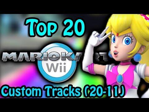 Top 20 Mario Kart Wii Custom Tracks (20-11)