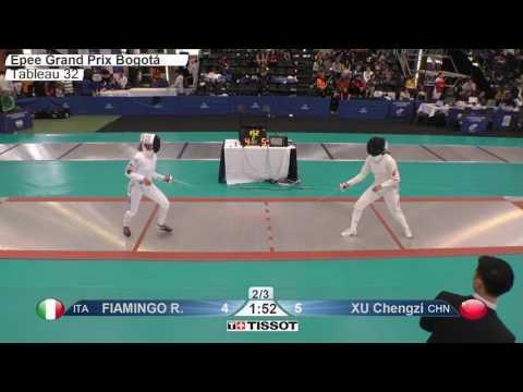FE F E Individual Bogota COL Grand Prix 2017 T32 04 red FIAMINGO ITA vs XU CHN