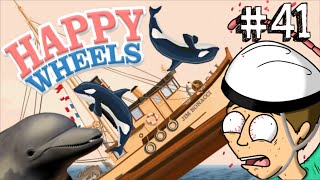 I DELFINI CI ATTACCANO!! - Happy Wheels [Ep.41]