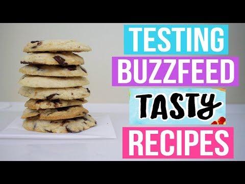 TASTY BUZZFEED RECIPES TESTED #8