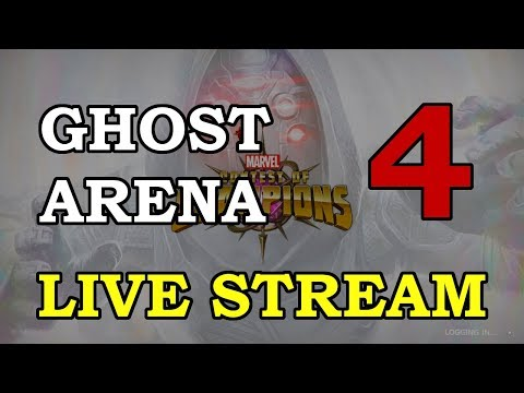 Ghost Arena - Part 4 | Marvel Contest of Champions Live Stream