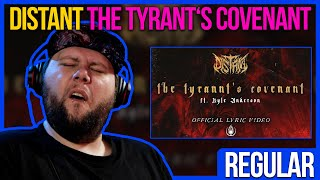 Holy crap...!   GERMAN METALHEAD REACTS   DISTANT - The Tyrannt's Covenant ft. Kyle Anderson