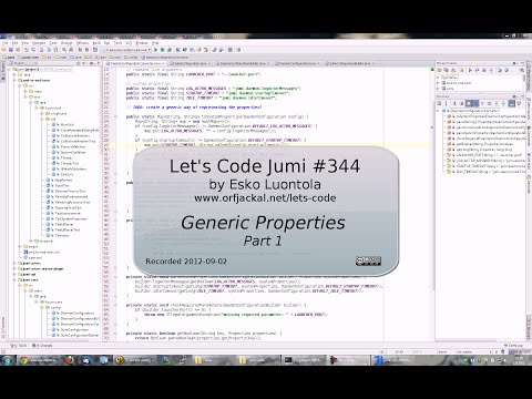 Let's Code Jumi #344: Generic Properties (Part 1)