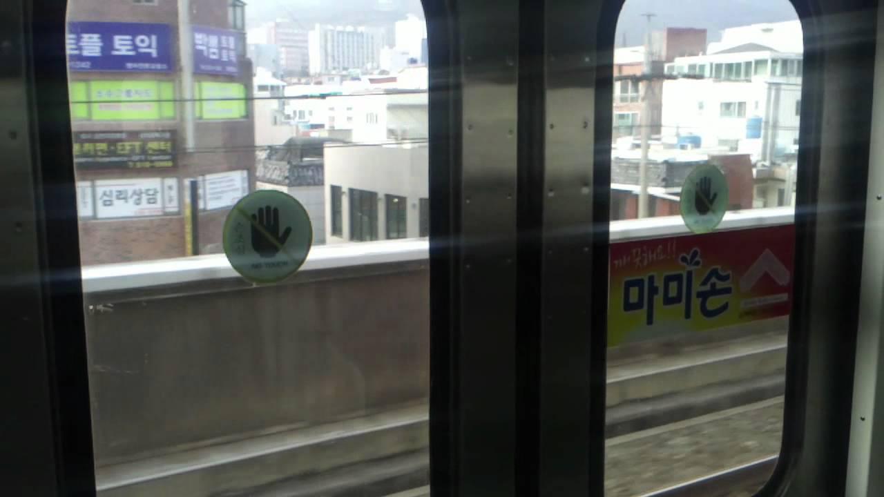 釜山交通公社1000系電車電機子チョッパ走行音 - YouTube