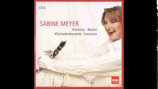 Sabine Meyer, Rossini Introduction Theme and Variations  for Clarinet and Orch in B flat major