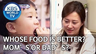 Whose food is better? Mom's or Dad's? [The Return of Superman/2020.01.26]