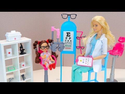 Барби Мультик Очки Для Малявки Куклы Игрушки для девочек Новые серии Барби IkuklaTV