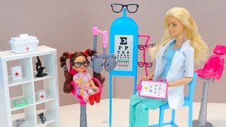 Барбі Мультик Окуляри Для Малявки Ляльки Іграшки для дівчаток Нові серії Барбі IkuklaTV
