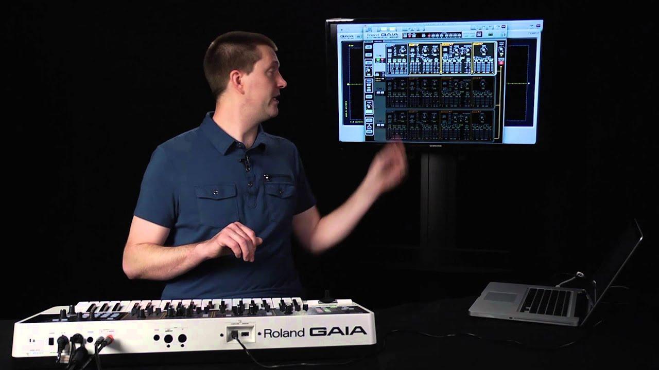 Roland Gaia Sh 01 Intro Setup Youtube