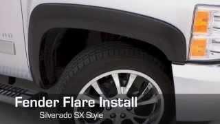 Lund | Fender Flare RX & SX Chevrolet Silverado Installation
