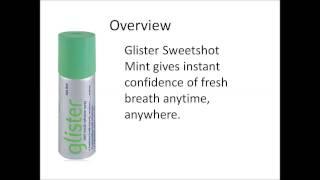 GLISTER Mouth Freshener Spray