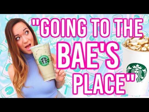 "Alisha Marie ""BAE'S PLACE"" Starbucks Compilation (vlogbby11)"