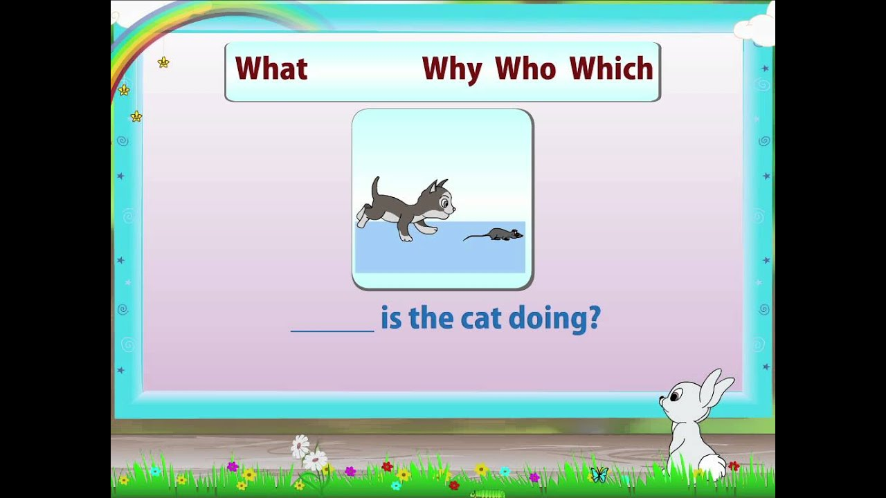 Learn Grade 2 - English Grammer - Question Words - YouTube