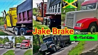Jake Brake Compilation - Tiptrail Edition #Jamaica Part 1