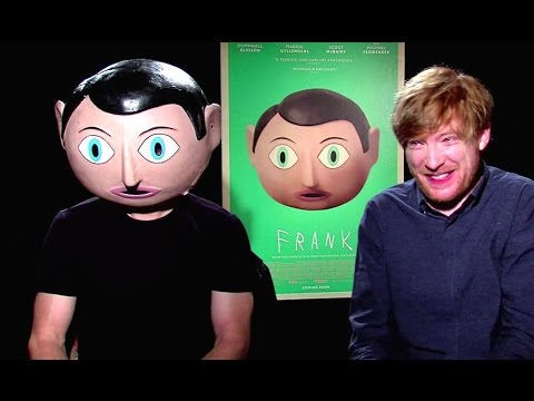 Michael Fassbender & Domhnall Gleeson Interview - Frank Movie (2014) JoBlo Exclusive HD