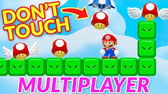 The Ultimate Test of Patience in Online Mario Maker 2 Multiplayer (EXPERT LEVELS)
