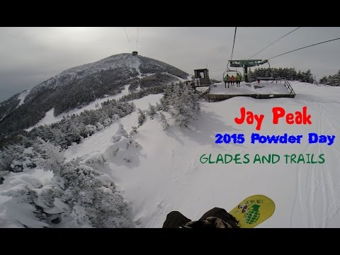 Jay Peak 2015 Trails and Glades