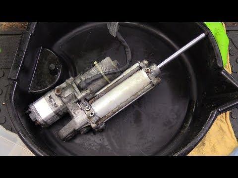 BMW K1200LT DIY EHCS Rebuild Repair And Fill (Electric Center Stand)