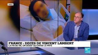 """Vincent Lambert : """"Une histoire personnelle qui nous invite à réfléchir collectivement"""""""