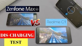 Realme C1 VS Asus Zenfone Max M1 - Battery Discharging Test