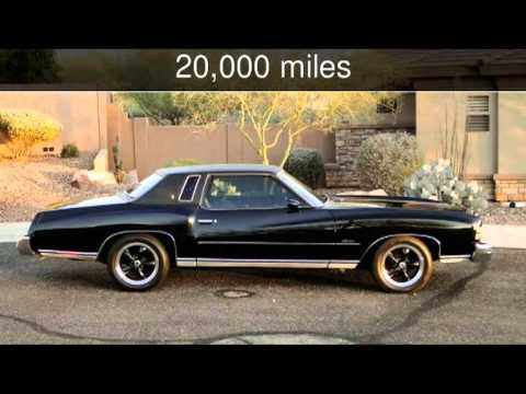 Used Cars Phoenix >> 1974 CHEVROLET MONTE CARLO Used Cars - Phoenix,Arizona - YouTube