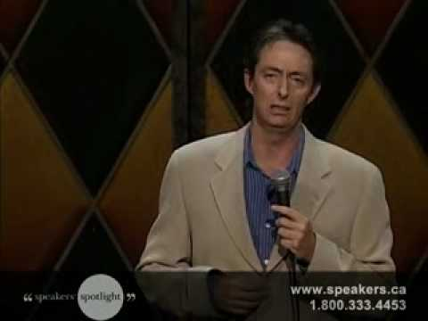 Derek Edwards - Award Winning Comedian