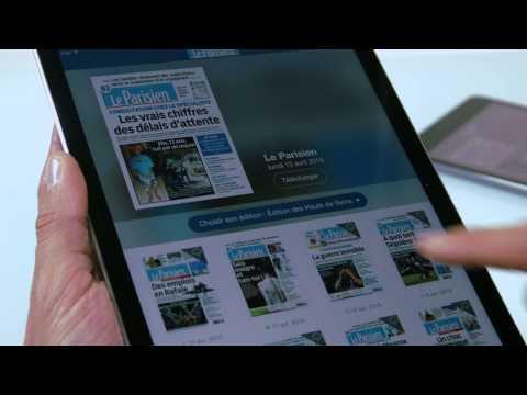 Découvrez votre application Le Journal Le Parisien !