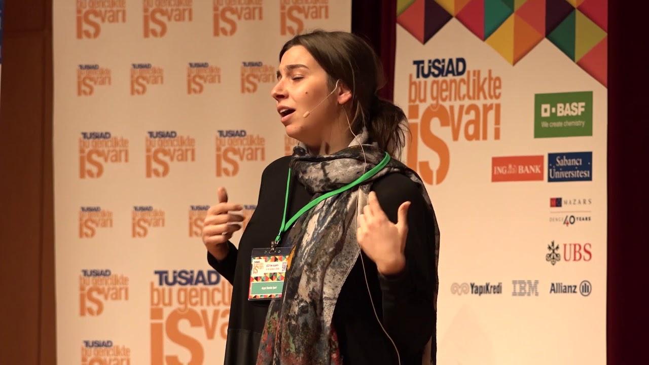 Ayşe Damla İşeri | Girişimci Sohbeti (Bu Gençlikte İŞ Var! 2018 Eğitim Kampı)