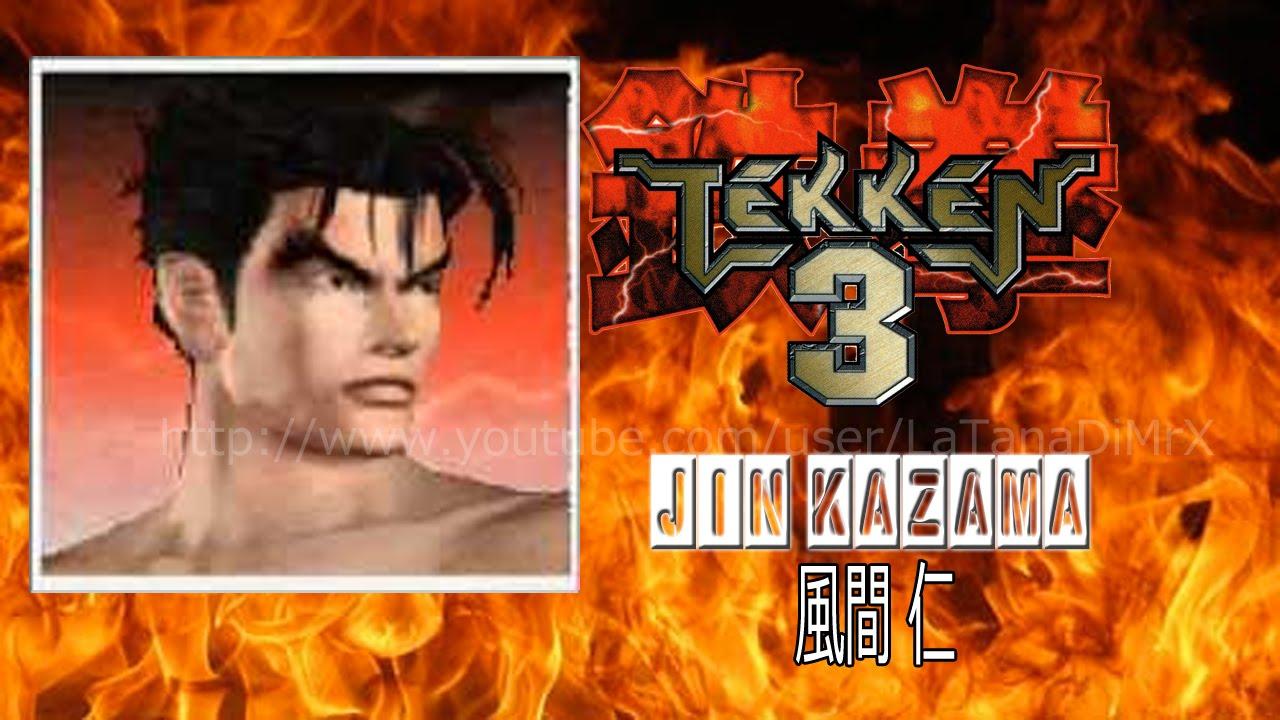 tekken 3 鉄拳3 jin kazama 1997 arcade hd youtube