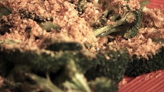 Save The Kales! - Dijon Roasted Broccoli With Topping