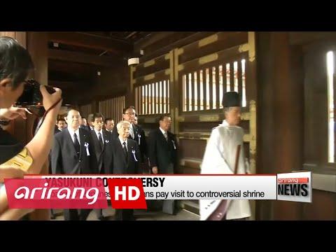 Korean gov't expresses regret over Japanese politicians' visit to Yasukuni Shrine