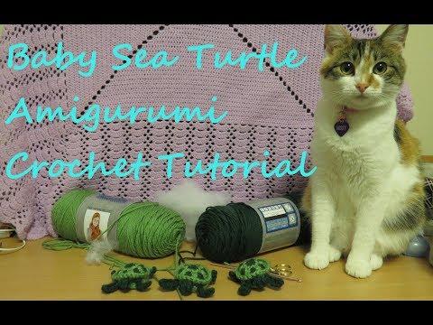 Baby Sea Turtle Amigurumi Crochet Tutorial