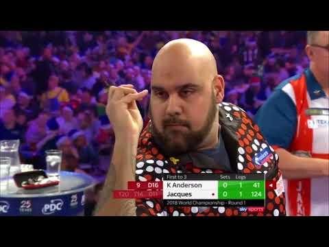 Darts Live: Darts WM 2018 Tag 4 Kyle Anderson vs Peter Jacques