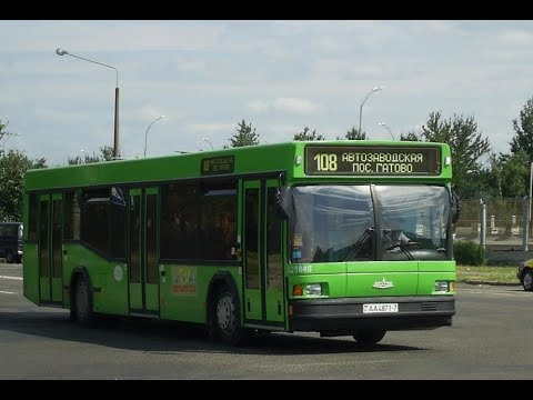 Автобус Минска МАЗ-103.060,гос.№ АА 4871-7, марш.132 (22.09.2019)