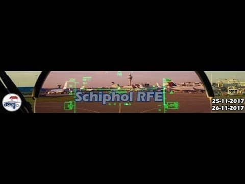 Live RFE Amsterdam Schiphol IVAO event  25-11-2017