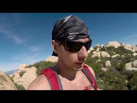 El Cajon Mountain Trail near San Diego CA