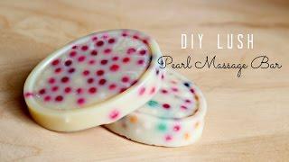 DIY LUSH Pearl Massage Bar - Bubble Tea Inspired !
