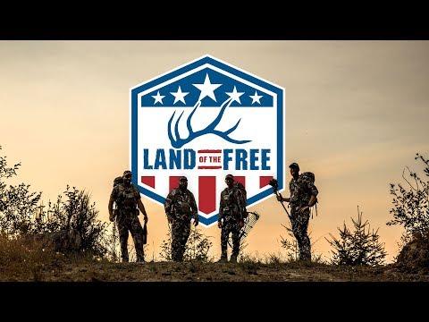 FRONTAL 6 YARD BOW SHOT ON ROOSEVELT ELK - EP 01 - LAND OF THE FREE